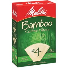 80 Count Bamboo Filters (Set of 4)