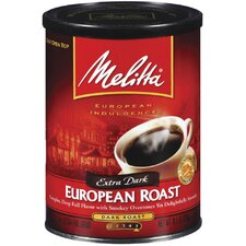10.5 Oz. European Roast Extra Dark Ground Coffee