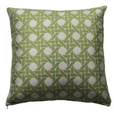 Cane Indoor and Outdoor Square Pillow