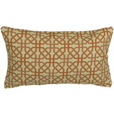 Outdoor Trellis Lumbar Pillow