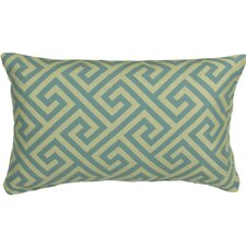 <strong>Mastercraft Fabrics</strong> Outdoor Key Prussian Lumbar Pillow