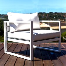 <strong>Harbour Outdoor</strong> Piano Frame Deep Seating Chair with Cushions