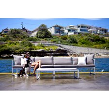 <strong>Harbour Outdoor</strong> Clovelly 3 Piece Deep Seating Group with Cushions