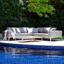 <strong>Harbour Outdoor</strong> Balmoral Left/Right Arm Deep Seating Sofa with Cushions