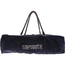 Namaste Yoga Kit Bag in Navy Blue