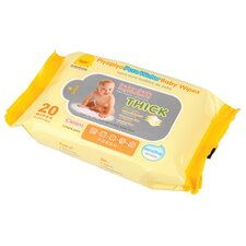 Baby Water Wipes Travel Pack