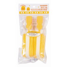 Two Piece Assembled Bottle Scrubber Head Refill