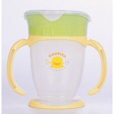 <strong>Piyo Piyo</strong> Four Step Training Cup Lid Broad Opening Style