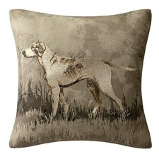Hadley Printed Dog Square Pillow