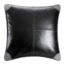 <strong>Woolrich</strong> Williamsport Faux Leather Decorative Pillow