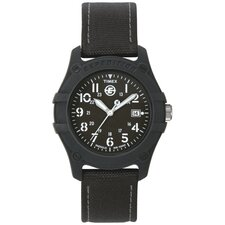 Expedition E Analog Watch in Black