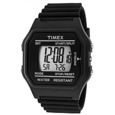 <strong>Timex</strong> Unisex Multi-Function Rectangular Watch