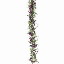 "60"" Lavender Wildflower Garland"