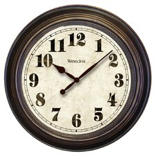 "Oversized Classic 24"" Wall Clock"