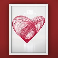 Prints Heart Framed Art