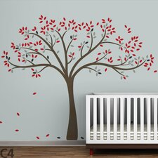 <strong>LittleLion Studio</strong> Trees Fall Wall Decal