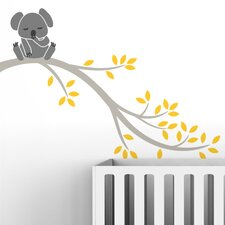<strong>LittleLion Studio</strong> Tree Branches Koala II Wall Decal
