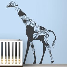 <strong>LittleLion Studio</strong> Fauna Floral Giraffe Wall Decal
