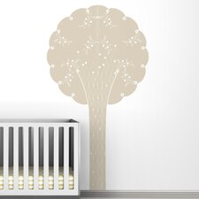 Black Label Cornet Tree Wall Decal