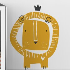 <strong>LittleLion Studio</strong> Baby Zoo Lion King Wall Decal