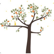 <strong>LittleLion Studio</strong> Trees Follow the Little Rabbit Wall Decal