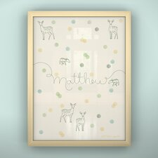 Prints Confetti Framed Art