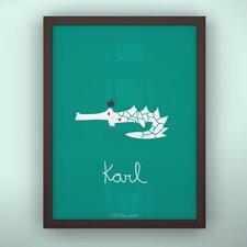 Prints Croco King Framed Art