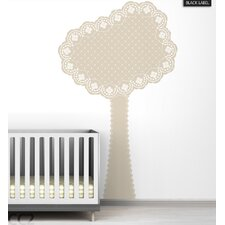 Eyelet Tree Black Label Wall Decal