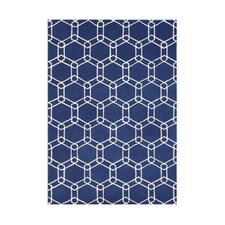 <strong>Alliyah Rugs</strong> Mazrain Blue Rug