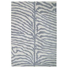 <strong>Alliyah Rugs</strong> New Casanova Grey/Ivory Safari Rug