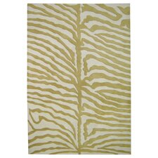 <strong>Alliyah Rugs</strong> New Casanova Olive Green/Ivory Safari Rug