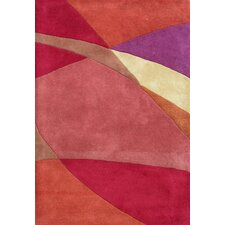 Alliyah Tomato Red Rug