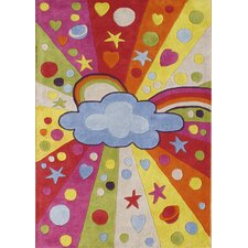 Alliyah Cloudy Kids Rug