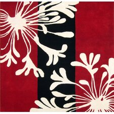 <strong>Alliyah Rugs</strong> Sabrina Red Floral Rug