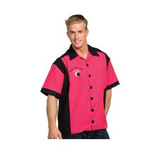 Bowling Shirt Costume in Fuchsia