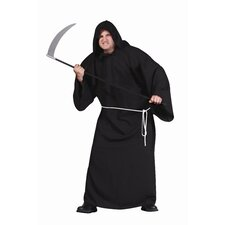 Ghoul Robe Adult Costume with Black Robe