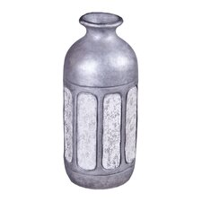 Antiqued Stripe Decorative Bottle