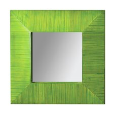 Bamboo Square Mirror