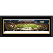 NFL Pittsburgh Steelers - AFC Champions Deluxe Framed Photographic Print
