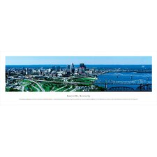 NCAA Louisville, Kentucky Unframed Panorama