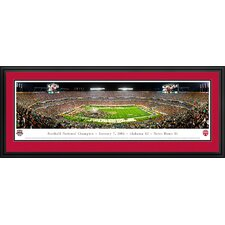<strong>Blakeway Worldwide Panoramas, Inc</strong> NCAA BCS Football Championship 2013 Deluxe Frame Panorama