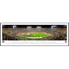 NCAA BCS Football Championship 2013 Standard Framed Photographic Print