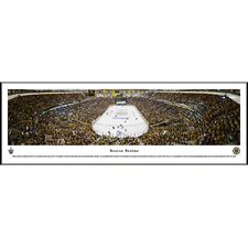 NHL End Zone Standard Framed Photographic Print
