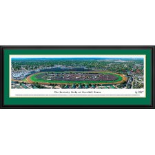 Kentucky Derby at Churchill Downs Deluxe Framed Photographic Print