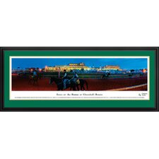 Dawn at Churchill Downs Deluxe Framed Photographic Print