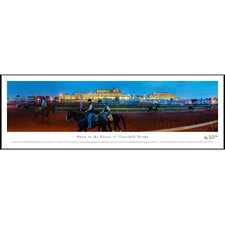Dawn at Churchill Downs Standard Frame Panorama