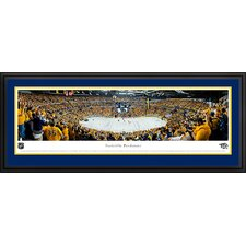 NHL Nashville Predators - Playoffs Deluxe Framed Photographic Print