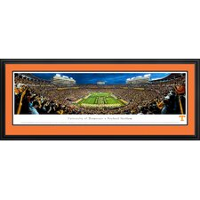 "NCAA University of Tennessee - Power ""T"" by James Blakeway Framed Photographic Print"