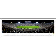 NCAA University of Notre Dame - 125 Night Standard Framed Photographic Print