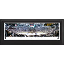 NHL 2012 Stanley Cup Champions - Los Angeles Kings Deluxe Framed Photographic Print